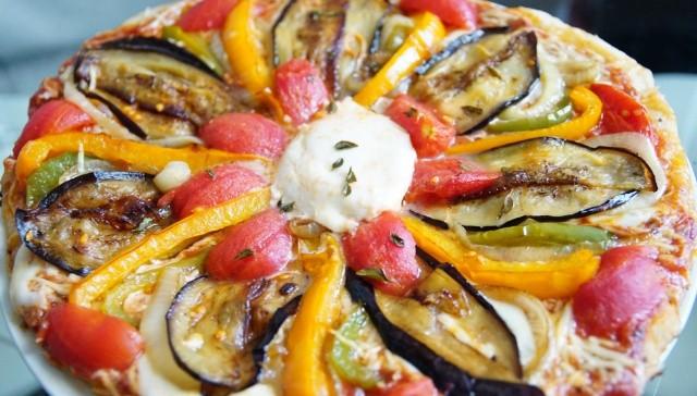 Recette de pizza v g tarienne - Recette de cuisine simple et pas cher ...